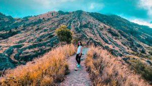 Start point pendakian gunung Batur
