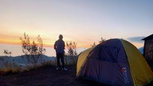 paket camping gunung batur